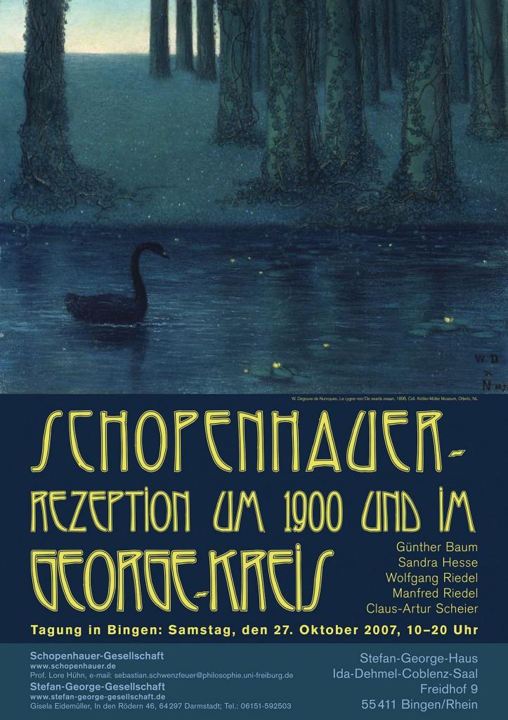 Plakat Schopenhauer-George