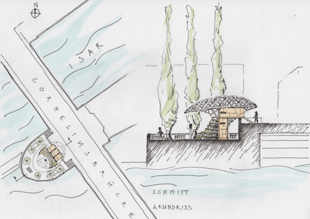 Wettbewerbsbeitrag Octopy Cornelius Bridge